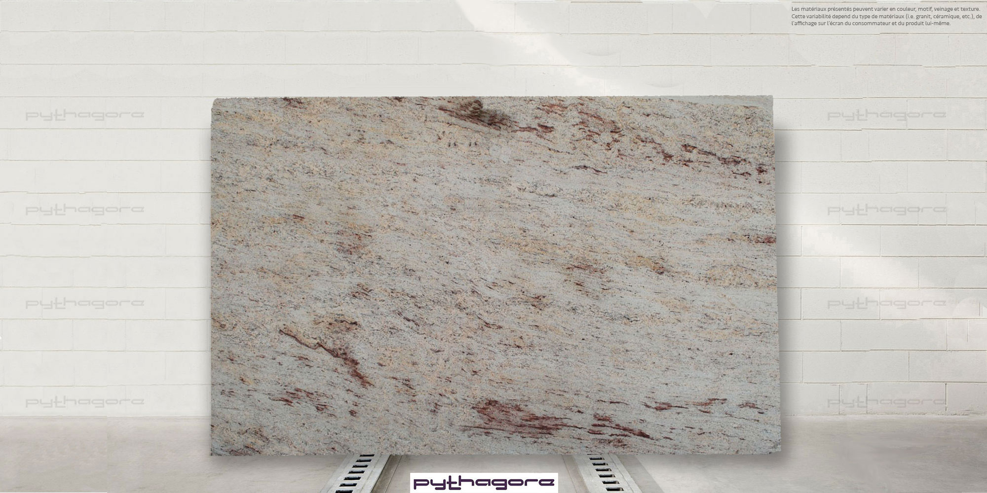 Plan De Travail Granit Beige shiva - marbrerie pythagore - plan de travail - agencement